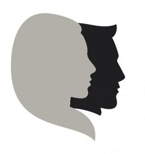 silhouet echtpaar